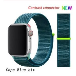 ❤️NEW Blue Hit Sport Loop Strap For Apple Watch